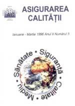 Asigurarea Calităţii – Quality Assurance, Vol. II, Issue 5, January-March 1996