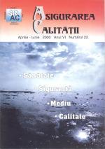 Asigurarea Calităţii – Quality Assurance, Vol. VI, Issue 22, April-June 2000