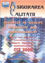 Asigurarea Calităţii – Quality Assurance, Vol. VI, Issues 23-24, July-December 2000