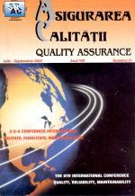 Asigurarea Calităţii – Quality Assurance, Vol. VIII, Issue 31, July-September 2002