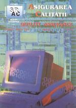 Asigurarea Calităţii – Quality Assurance, Vol. IX, Issue 33, January-March 2003
