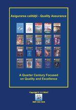 Asigurarea Calităţii – Quality Assurance, Vol. XXIV, Issue 94, April-June 2018