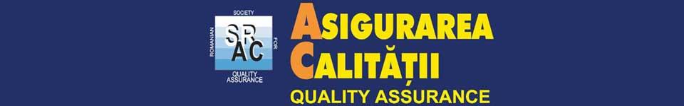 Asigurarea Calitatii – Quality Assurance